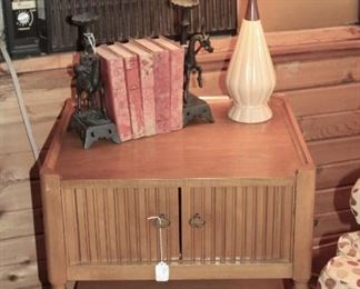 furniture MCM style end table