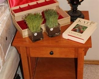 furniture mission style end tables