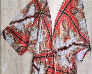 Funky 70s Kimono Top