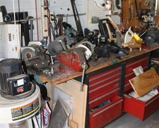 Power tools and bench grinders