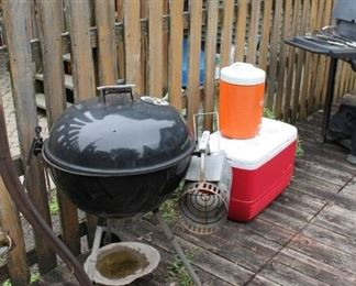 Weber 22 inch kettle bbq grill