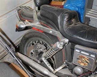 1993 Softail Harley Davidson motorcycle