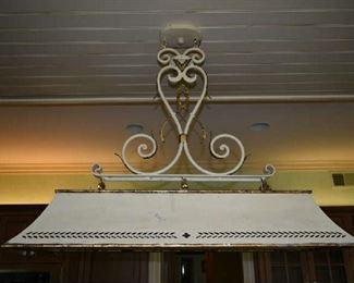 HANGING LIGHT FIXTURE IN KITCHEN