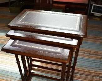 3 NESTING ACCENT TABLES