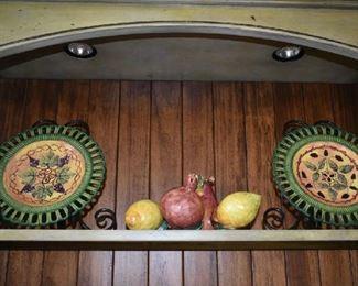 DECORATIVE PLATES/FRUIT