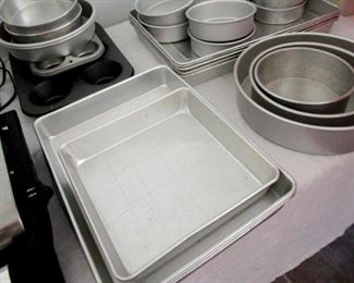 Wilton and Daddeo's Cake Pans