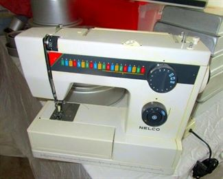 Nelco sewing machine. Italy