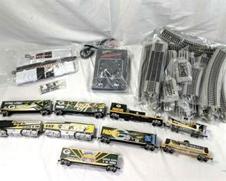 Green Bay Packers Express Collection Hawthorne Village  complete train set