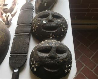 AFRICAN ART AND MASKS