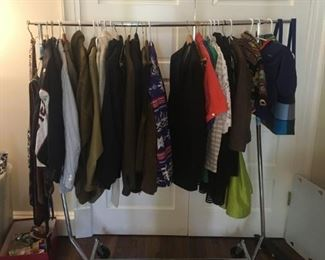 CLOTHING INCLUDING ORVIS, BROOKS BROTHERS HOLLAND AND HOLLAND, TUXES AND MORE