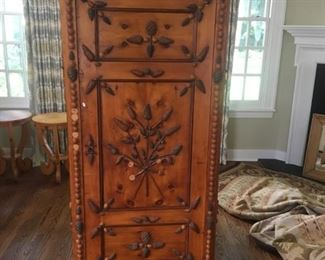 RUSTIC LOOK FRENCH CABINET