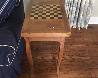 VINTAGE FOLDING GAME TABLE
