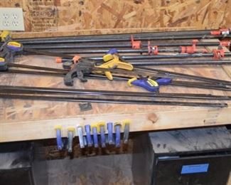 clamps in all sizes