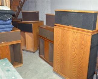 WOW!!!  Three sets of Klipsch speakers.