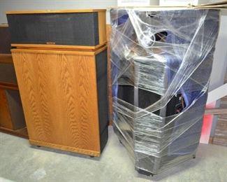 Klipsch Klipschorn speakers - ser #074596542