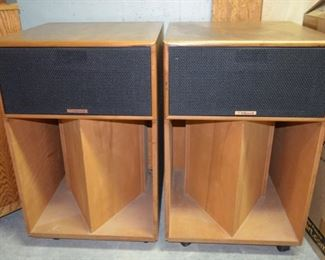 1980 Klipsch La Scala Speakers - ser# 32y368