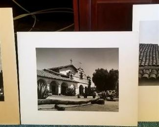 Part of a large collection of mounted art photographs by John H Robinson