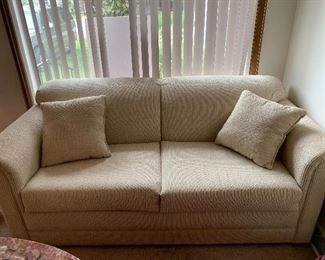 Like new sofa sleeper, sits wonderful