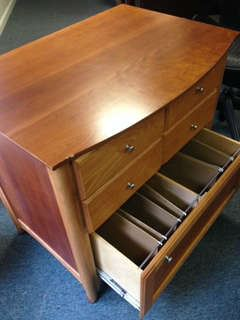 File Cabinet which matches Computer Desk and Hutch!