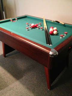 Bumper Pool Table - excellent condition