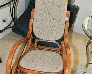 bent wood rocker great condition