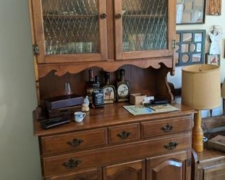 $!00  Maple china cabinet