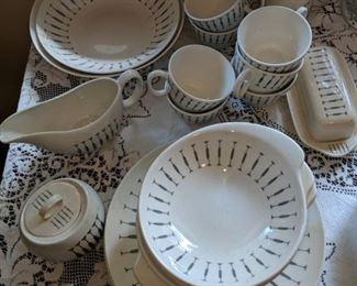 $40  Vintage dishes