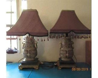 Bid on these fab. lamps https://www.aworldofmemories.com