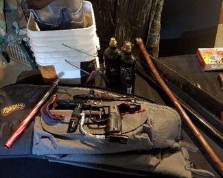 Paint Gun Set Up