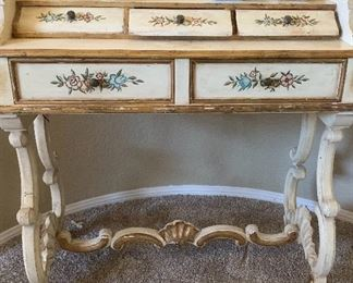 Painted petit vanity