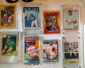 Collectible baseball cards
