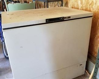Older chest freezer but still in great working condition