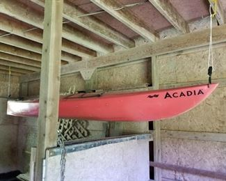 One of two kayaks