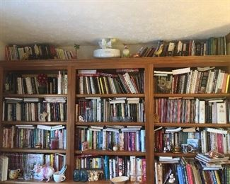 tons and tons of cookbooks