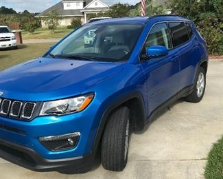 The Jeep Compass is available for pre-Sale please call 334-464-2093 to set a appointment
