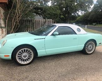 2004 Ford T-Bird - Mint green - special edition color