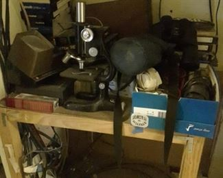 Microscope and other Equipment