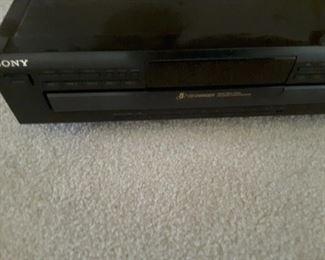 Sony VHS Player