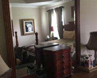 Mirror on Dresser in Bedroom 2