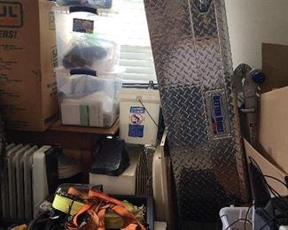 Garage - metal tool box