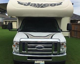 2017 Jayco Greyhawk 29MV Ford V10 motor 12,500 miles