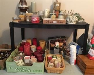 Candles, potpourri and more