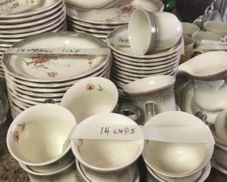 Mikasa set of dishes