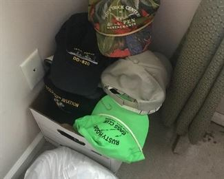 Bedroom 3 - More hats