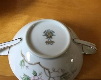 """Vintage Noritake """"Chatham"""" complete set of dishes with completer pieces"""