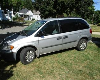 2006 Dodge Caravan, 63000 miles, runs good, some Rust, good vehicle