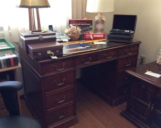 Nice wooden sturdy desk