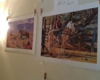 Western/cowboy prints