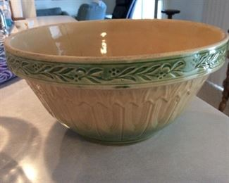 Vintage bread mixing bowl
