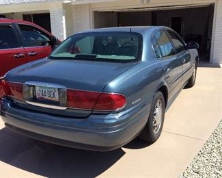 2002 Buick  Le Sabre   4 door automatic everything. Well taken of, very nice condition.  Low mileage.